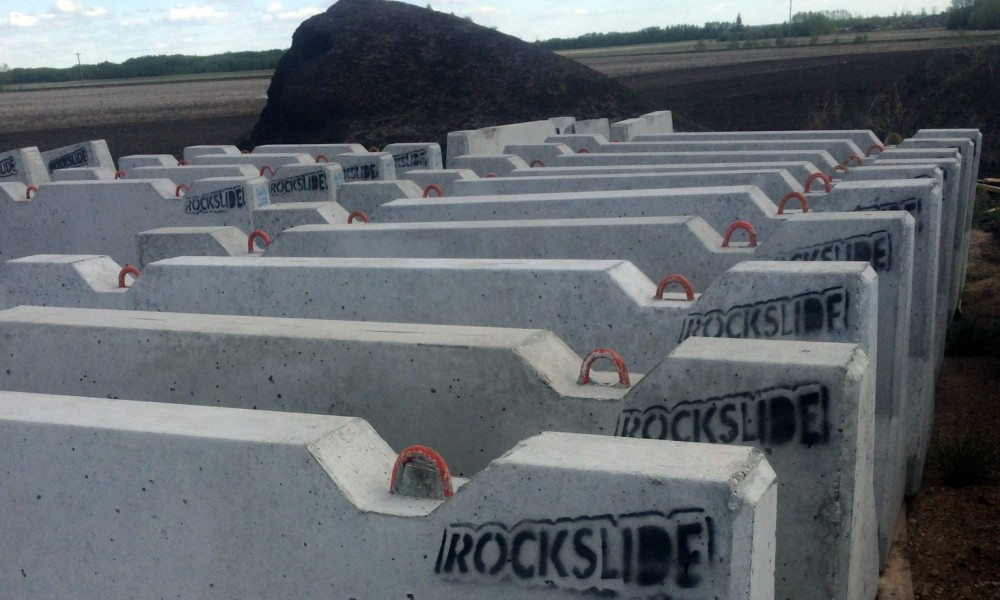 Jersey Barriers Bonnyville